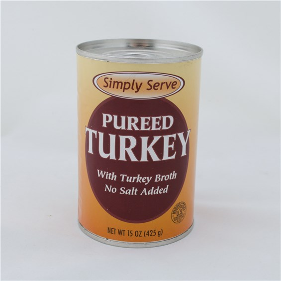 Simply serve pureed turkey edietshop for What to serve with thanksgiving turkey