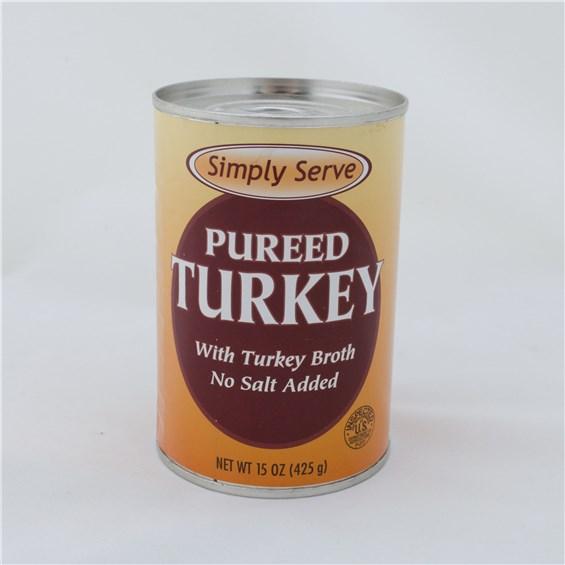 Simply Serve Pureed Turkey Edietshop
